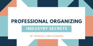 Professional Organizing: Industry Secrets